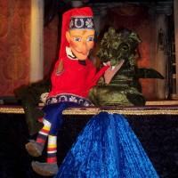 """Kinderprogramm – Puppentheater Gabi Kussani mit dem Programm """"Kasper und der Zauberdrache"""""""
