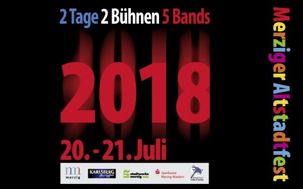 Merziger Altstadtfest 2018